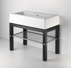 bathroom console vanity. Wood Four Leg Single Console Contemporary Bathroom Vanities Sink Vanity H