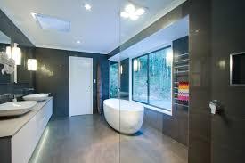 bathroom design company. Bathroom Renovation Brisbane Dark Modern Style With Shower Bench \u0026 Oval Full Design Company T