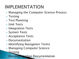 computer science assignment help computer science online tutors computer science iuml129frac12 testing iuml129frac12 developing user documentation 13 iuml129frac12 our assignment