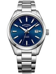rotary watches view the creative watch co range mens rotary havana steel blue dial auto date gb05077 05 watch
