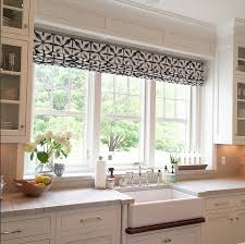 Designer Kitchen Blinds Adorable Kitchen Window Shades Shade Fabric Vinyl Sticker Backsplash Adds