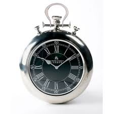 bond street pocket watch wall clock