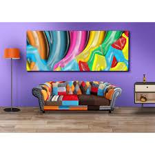 colourful paint wall decor canvas art india makimus com