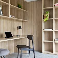 modern home office. Inspiration For A Mid-sized Modern Study Room In Melbourne With Concrete  Floors, Home Office