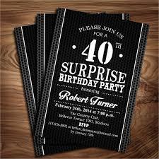40th Birthday Invitations Free Templates Printable 40th Birthday Invitations Magdalene Project Org