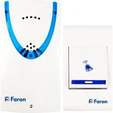 <b>Звонок дверной</b> беспроводной <b>Feron</b> E-222 32 мелодии 2х15VAAA
