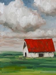 expressionist barn painting lesson gagnon studio