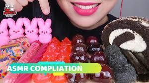 Tiktok thánh ăn ( Bánh kẹo dẻo ,kẹo đá ,thạch tổ ong,bánh tráng miệng )  MUKBANG 21 - YouTube