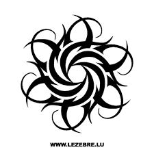 tribal sticker 21