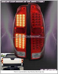 lighting chevy chevrolet avalanche truck accessories led tail lights set of two 02 06 avalanche