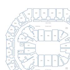 Spectrum Center Interactive Seating Chart