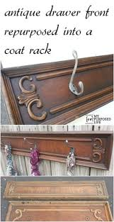 Wall Coat Rack Canada Awesome Repurposed Drawer Front Coat Rack Turn An Orphan Drawer Front Into