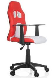 computer chair for kids. Beautiful For Kids Computer Desk Chair In White And Red Finish For D