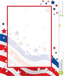 american template united states of america stars and stripes flag border template
