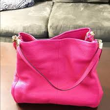 ... Coach Madison Phoebe Coach Phoebe bag in Pink Ruby in perfect condition.