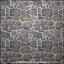 Brilliant Medieval Stone Floor Texture Tileable Brick Shader Inside Modern Ideas