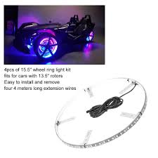 How To Install Wheel Ring Lights Auto Parts Accessories Ip68 15 5color Change Rgb Led 4pcs