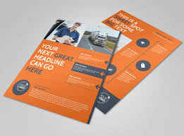 Moving Flyer Template Moving Company Flyer Template Mycreativeshop