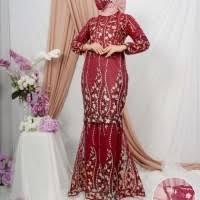 11 kebaya modern dan model pengantin terbaru 2019 lamaran hijab dengan nuansa warna lembut woke id inspirasi baju kondangan pakaian pesta gaun perempuan artis selebritis √ 60 brokat. Daftar Harga Gamis Modern Duyung Bulan Juli 2021