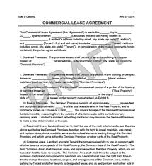 notice to tenant to make repairs templates commercial lease agreement templates