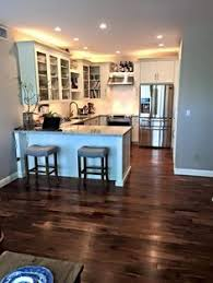 when you do hardwood floor refinishing you need to add stain using the regular painting techniques it s a very good idea to begin the stroke similar to