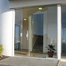 frameless glass pivot doors