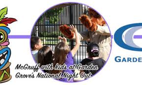 celebrate the 35th anniversary of garden grove national night out