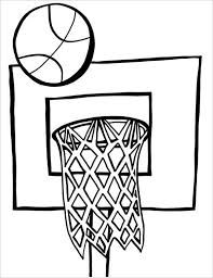 Small Picture 21 Basketball Coloring Pages Free Word PDF JPEG PNG Format