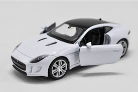 jaguar f type model cars toys 1 36 alloy cast open two doors gifts white new