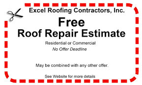 roof repair estimate. details on free jacksonville fl area roof repair estimates from excel roofing contractors inc estimate f