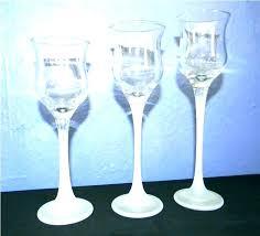 tall tea light holders long stem tealight candle holders tall candle holders bulk long stem glass
