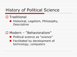 Ppt History Of Political Science Powerpoint Presentation