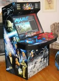 mame cabinet star wars artwork just incredilble the alliance on one side and the empire on the other pure artwork simply the best i have seen so