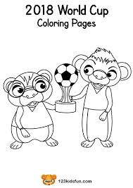 Coloring Pages Football Football World Cup 2018 Worksheets Free Football World Cup 2018