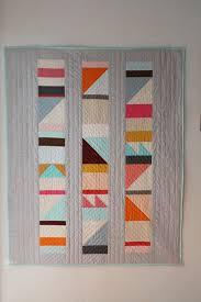 Best 25+ Geometric quilt ideas on Pinterest   Modern quilt ... & Modern Style Quilt Patterns Modern Quilts Coverlets Modern Baby Quiltbright  Geometric Design By Brigitgail On Etsy Modern Contemporary Quilt Patterns  ... Adamdwight.com