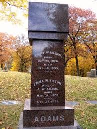 Avery Ward Adams (1826-1895) - Find A Grave Memorial