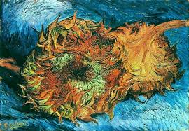 still life with two sunflowers 1887 in moma