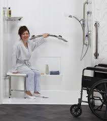 accessible bathrooms happy lady