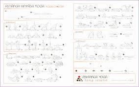 Ashtanga Yoga Poses Chart Kayaworkout Co