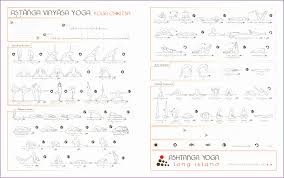 Ashtanga Poses Chart Ashtanga Yoga Poses Chart Kayaworkout Co
