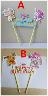 Korean Themed Party Decorations Popular Super Wings Birthday Parties Buy Cheap Super Wings