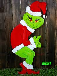 Grinch Plywood Cutout Pattern Magnificent Design Ideas