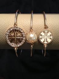 tory burch bangle bracelets set of 3 by kjfashionjewelry on etsy 14 99