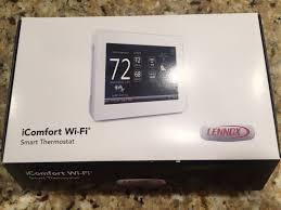 lennox touchscreen thermostat. lennox touchscreen thermostat