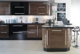 Black Gloss Kitchen Apollo Dark Walnut Gloss Kitchen Hugel Designer Kitchens