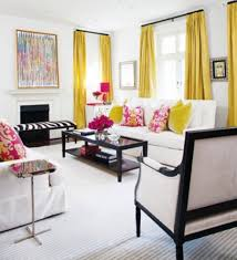 colorful living rooms with white walls. curtain-color-designs-ideas-white-walls colorful living rooms with white walls e