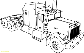 Coloring Pages Of Trucks Best Pick Up Truck Drawing At Getdrawings ...