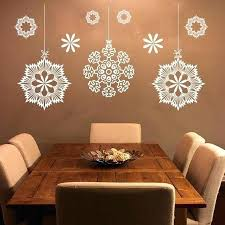snowflakes wall decals merry snowflakes wall decals decal vinyl sticker nursery bedroom home decor room interior
