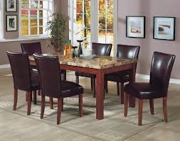Amazon Com 7pcs Granite Top Unique Granite Dining Room Tables And Chairs