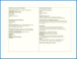 Cv Or Resume Format Cv Vs Resume Format Emberskyme 24